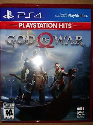 PS4 God of War Game  BRAND NEW SEALED Playstation 4 Hits