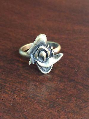 Vintage Disney Donald Duck Metal Adjustable Novelty Ring
