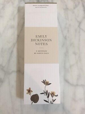 Emily Note (Emily Dickinson Notes (Set of 3)