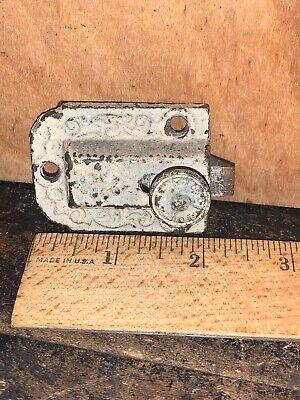 ANTIQUE VINTAGE LATCH LOCK HANDLE PART Door Intricate Design.