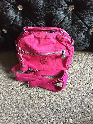 Kipling  Candy In Cherry Pink   across the shoulder bag/ Backpack