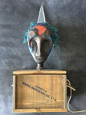 Disneyland 60 Jungle Cruise Sunrise Safari Breakfast Tribal Tiki Mask Event Gift