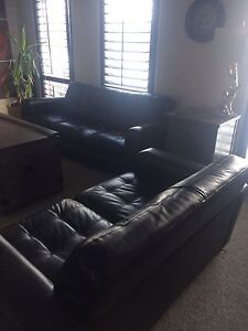 Leather Sofa, Love Seat and Chair