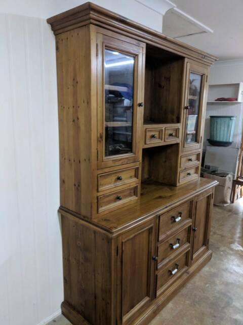 Pine Kitchen Dresser Cabinets Gumtree Australia Maroochydore Area Buderim 1213596526