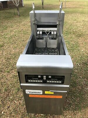 Frymaster Electric Fryer Model Re117bltcsd 208v 3phaz Computer Basket Lift