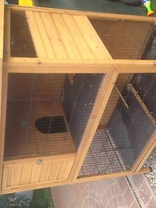 SUPER DELUXE HUTCH RABBIT GUINEA PIG FERRET ETC Bringelly Camden Area Preview