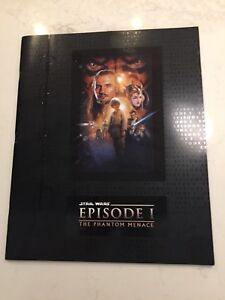 Star Wars Episode 1 Phantom Menace Premier Movie Program