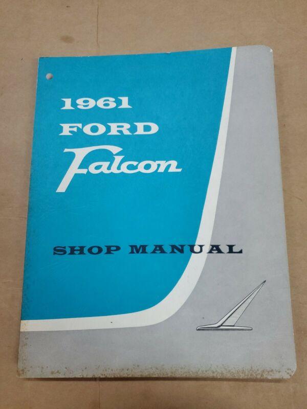1961 Ford Falcon service shop manual