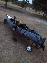 Viking Kayak + Motor and accessories Nanango South Burnett Area Preview