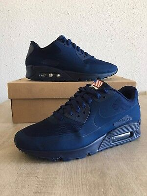 Nike Air Max 90 Hyperfuse Independence Day USA QS Midnight Navy -