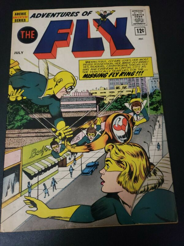 Adventures Of The Fly #20  Archie Comics Origin of the Fly Key