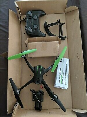 Sky Viper Scout Streaming Video Drone Quadcopter Hi-Def 720p