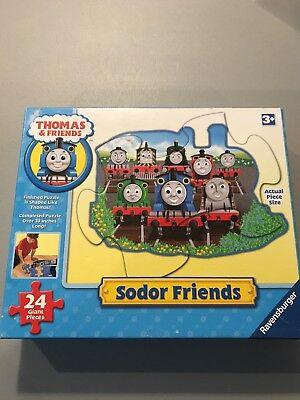 Thomas & Friends Sodor Thomas Shaped Floor Giant Puzzle 24 Pieces -
