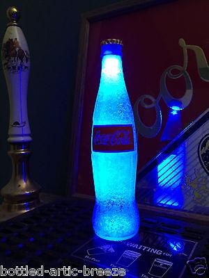 Coca Cola Coke 12 oz Bottle Light LED Pub Car Pool Man Cave Neon Bar