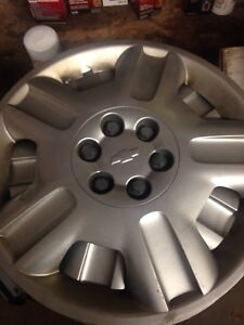 Chevy hubcaps