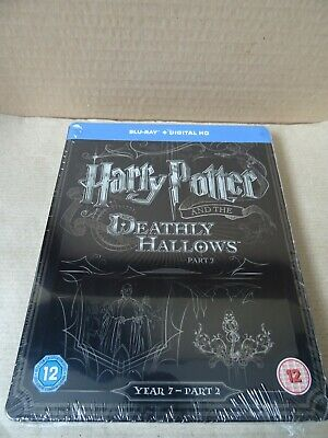 Harry Potter and the Deathly Hallows: Part 2 Limited Edition Blu-ray Steelbook