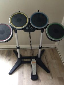 Rock band drums for Xbox 360!