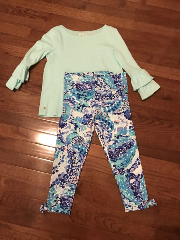 lilly pulitzer Girls Outfit Size Large 8/10