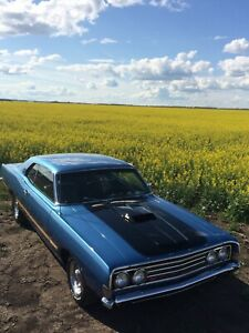 1969 Ford Fairlane restored