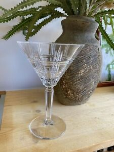 Waterford martini glasses x 4