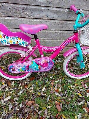 Kids Trolls Bike With Stabilisers 16 Inch Wheels