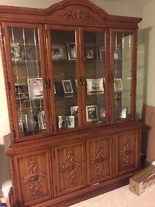 Dining room buffet hutch/ cabinet