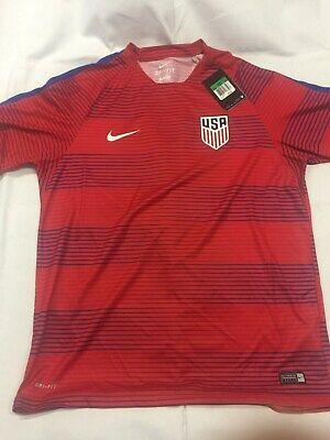 4f43ad5f5bd Nike - USA Soccer   Football Jersey - New Style - USA - XL - Red - Dri-Fit  - NWT