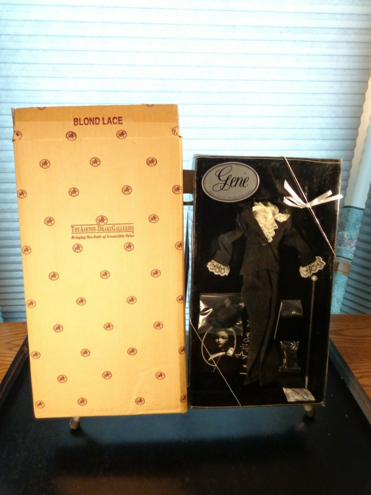 Ashton Drake Mel Odom s Gene Doll Blond Lace 96404-NRFB With Shipper - $19.99