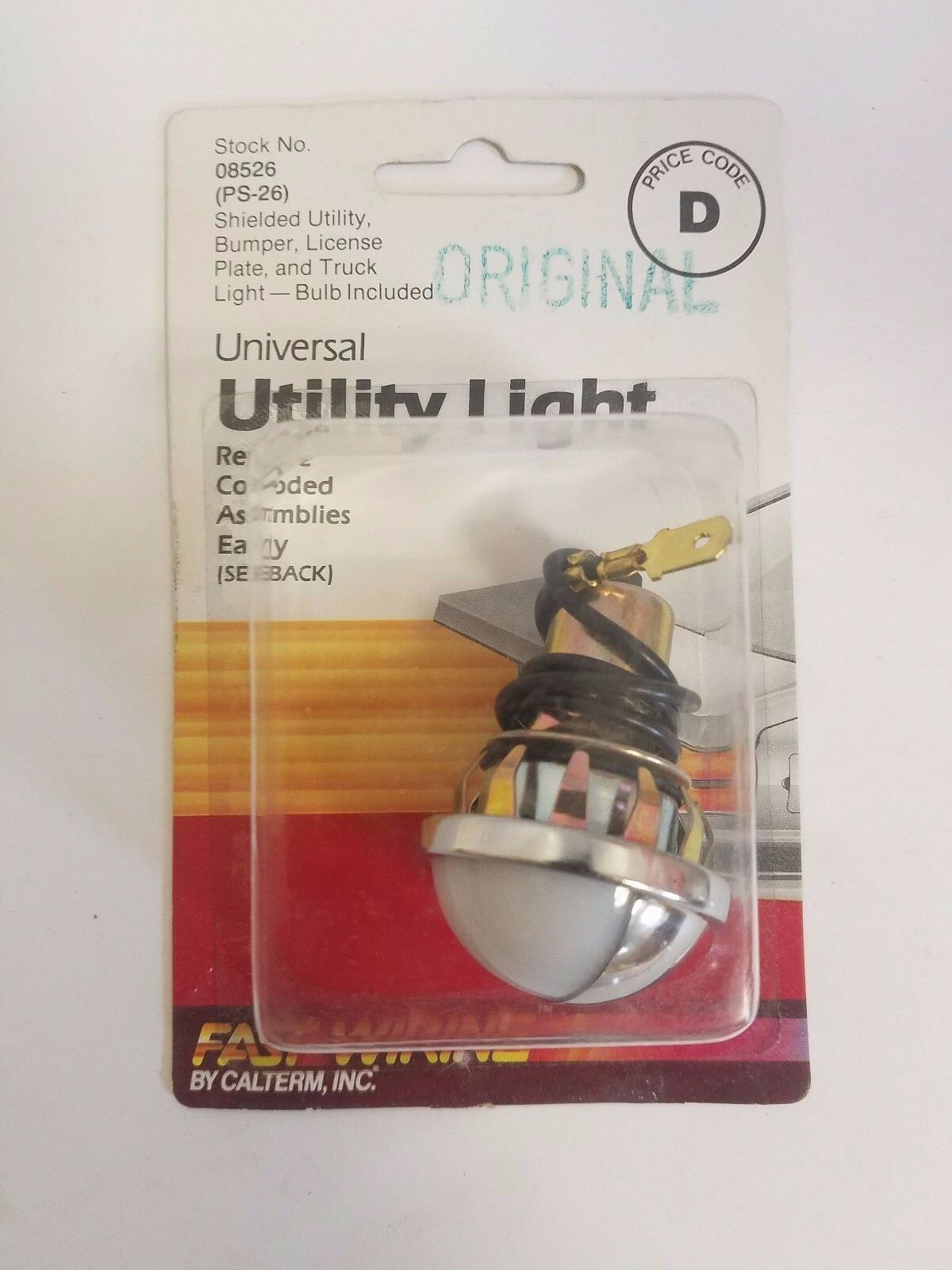 Calterm Universal Utility Light  8526 / PS-26 Lot of 20 Each