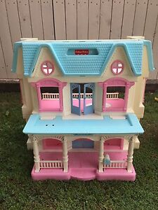 Fisher price dolls house with furniture Banyo Brisbane North East Preview