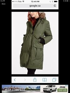 Thyme maternity winter parka