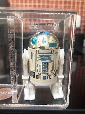 vintage star wars figures R2-D2. 1981. AFA 85 NM+