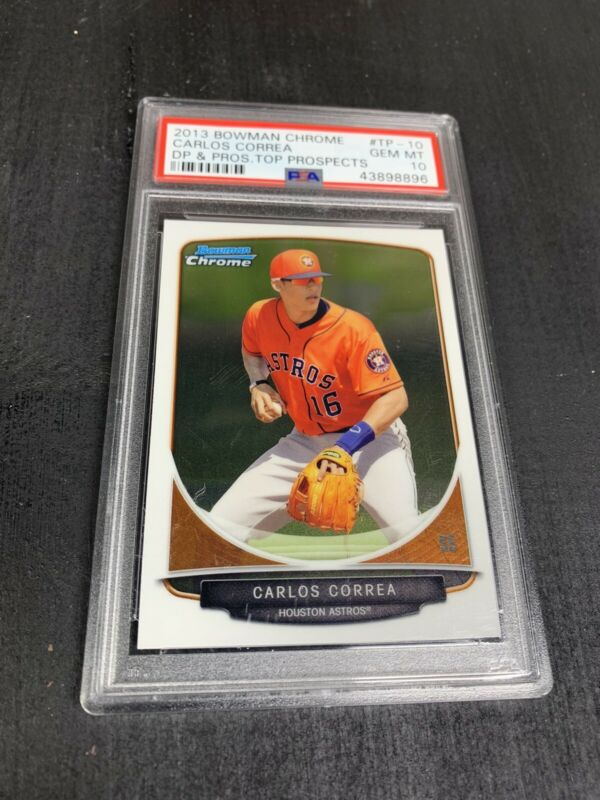 Carlos Correa Baseball Card Database - Newest Products will be ...
