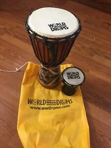 Djembe Drums set with carrying bag
