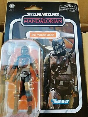 STAR WARS NEW VINTAGE COLLECTION THE MANDALORIAN BOUNTY HUNTER VC166 MOC FIGURE