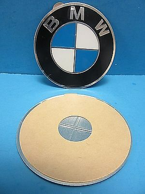 "1 Genuine Wheel Center Cap Emblem BMW OEM# 36136758569 70.0mm 2.7"" Adhesive DIY"