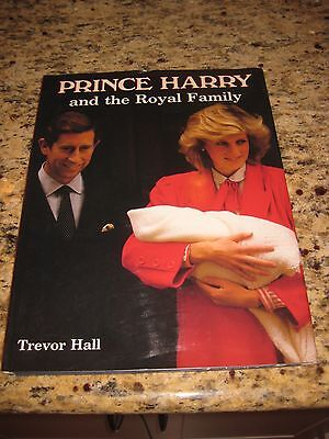 Prince Harry And The Royal Family By Trevor Hall Hardcover 1984