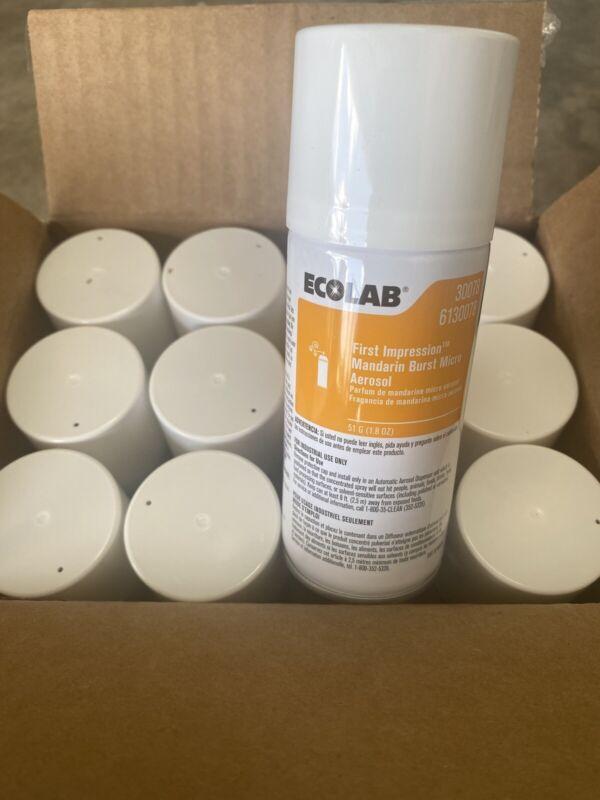 Ecolab 6130078 First Impression Air Freshener Mandrian Burst 12-1.8 Can Freeship