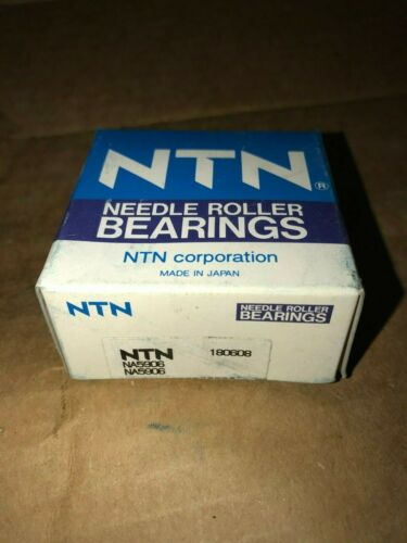 NA5906 - NTN - Mach Ring Needle Roller Bearing (Machined Race) - FACTORY NEW!