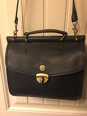 Jack George's Cross Body Bag Black Leather for sale  Peachtree City