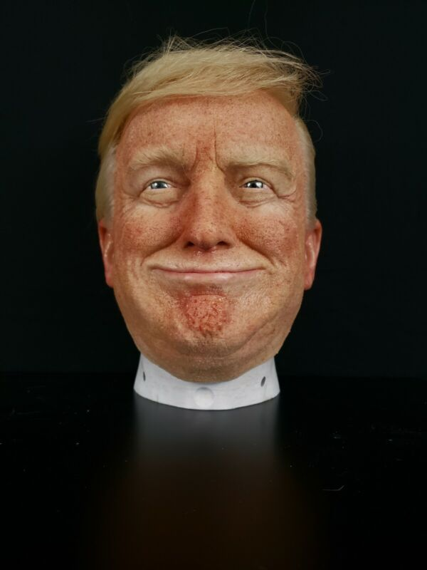 DONALD TRUMP Hyper Realistic Wearable spfx Silicone Mask USA President Halloween