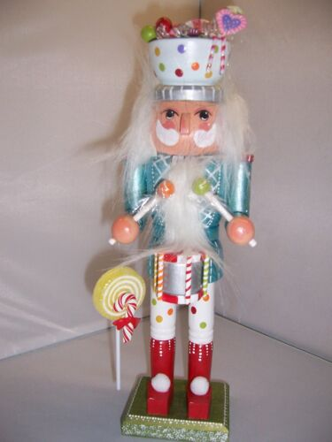 Candy Man Hand Painted Nutcracker