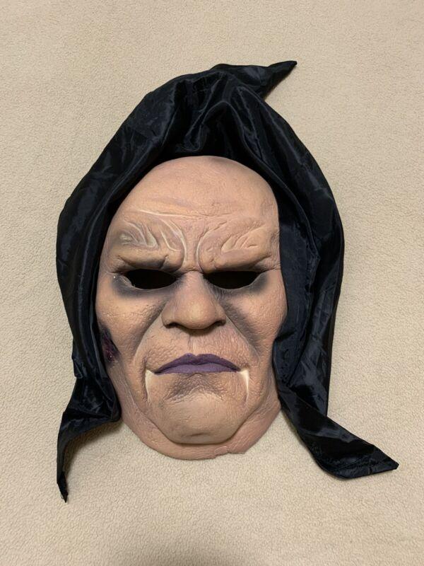 Hooded Flexi Face Halloween Mask - Soft & Flexible