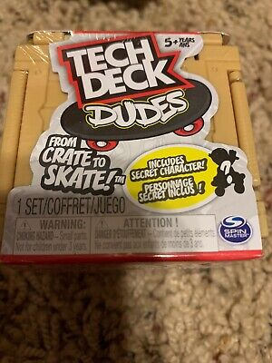 Tech Deck™ Dudes Mini Sk8 Crate From Crate To Skate (1 Set) segunda mano  Embacar hacia Argentina