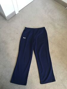 Under Armour Mesh gym pants Navy Blue
