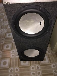 2 12 inch competition subwoofers