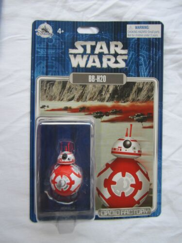 Disney Parks Star Wars Droid Factory Christmas BB-H20 New