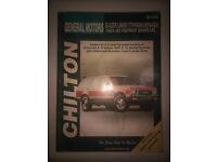Repair Manual-Base Chilton 28160