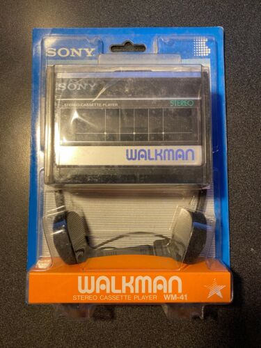 NIB - Sony WM-41 Walkman Cassette Player