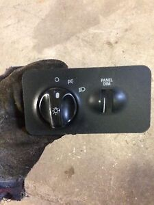 Ford headlight switch
